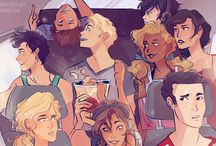 Percy Jackson and other heroes