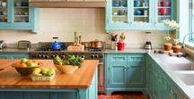 Color-Full Kitchen   Decor