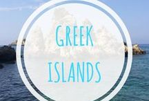 Travelling Greek Islands / Travelling the Greek Islands such as Kos, Rhodes and Santorini