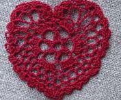 Crochet - Les Envies d'Amélie / Objets au crochet - dentelle  En vente sur ma boutique Les-envies-damelie sur A Little Market https://www.alittlemarket.com/boutique/les_envies_damelie-2855134.html