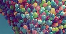 Ballons / Une collection de ballons