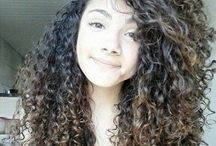 hair / Beautiful hair :  Featuring my love for mixed/curly hair and a penchant for ombré/balayage / by ♔ Bunky Bee