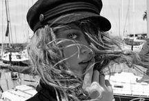 SAILOR STRIPES - / ** nautically inspired fashion ** / by Nancy Osorio