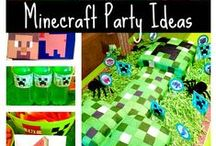 Minecraft party ideas / This board contains a selection of Minecraft themed party ideas for anyone wanting to hos their own party!