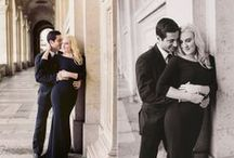 Parisian Anniversary Photoshoot  / Wedding Anniversary Photo shoot in Paris