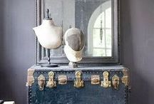 PRETTY LIVING ROOM GOODIES - / ** the little extras that make it lived in ** / by Nancy Osorio