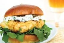 [Cheese]Burgers / The American favorite with extra flair.