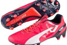 Puma Football Boots / Some of the best Puma football boots including evoSPEED, evoPOWER and King. All available at Kitbag.com
