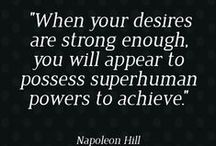 Definiteness of Purpose / Napoleon Hill, Think & Grow Rich Affirmations