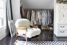 Closet [ Vestidores donde perderse] / Apasionada por los #vestidores y habitación favorita...... donde guardar mis tesoros. #closet