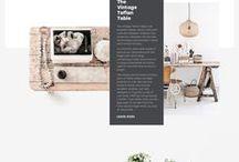Web Design / Web design, website, blog, graphic design, branding, entrepreneur, solopreneur, creative business, girlboss, boss lady, fonts, typography, business, design inspiration, blogger, blogging