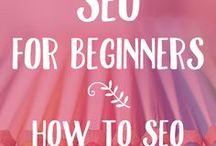 Website & SEO + Traffic Tips / These great SEO tips and tricks will teach you everything you need to know about building traffic to your website. Perfect for small business owners that want to get traffic to their website.