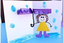 Basteln mit Kindern // Kids / Easy To make Craft / Viele Tipps gegen Langeweile Bastelanleitungen für Papier, Salzteig, Spiele, Glitzerschleim, Naturmaterialien