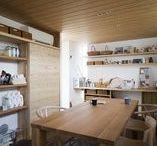ママスペース / 忙しい毎日の中で、家事の時間を短縮したいと思いませんか? 家事動線が考えられた空間。木を熟知した職人が手掛ける空間は、重さが無くとても軽やかなママスペースに! #ママスペース#家事室#家事動線#掃除#洗濯#アイロン#ワークス?ペース#家#新築#木#木造