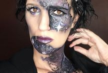 Avante gard and Abstract Makeup / Makeup that pushes the boundaries of the norm