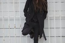 Black looks ♥ / Total black looks , outfits ..