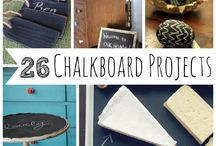 What to do with chalkboard paint!? / by Kelly Goebel