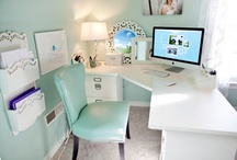 I finally have a craft room/office.... / by Kelly Goebel