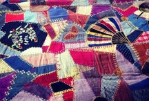 Crazy Quilt / I am going to make one, one of these days, in the Victorian style.
