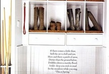 1805 | mudroom / inspiration for the mudroom in our home / by tamm adams | provisions farms