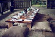 farm feast | table / table decor, room decor, ambiance, atmosphere for our farm feasts / by tamm adams | provisions farms