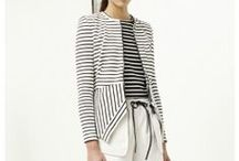 Stripes (to wear) / Stripes on clothes & accessories / by Melanie Saucier