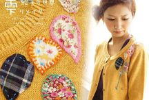 """Mori Girl Knit & Crochet / Knit and crochet patterns and items for Mori Girls (""""forest girl"""" Japanese street style)"""