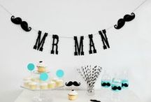 Little MAN Party / Decorations, printables and more for a little MAN party / by Maegan Power Noble