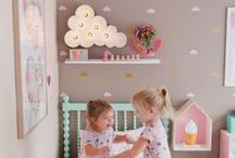 Ella & Lily new room! / by Heather Bronson