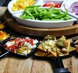 Raclette Recipe Ideas / Raclette recipe ideas for entertaining friends.