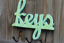Crafts - Key Rack Ideas / by Geri Johnson