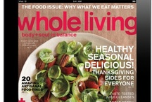 Whole Living for iPad / You can now get Whole Living on your iPad! You'll get free access to our digital magazine for the iPad when you subscribe to the magazine. Enjoy our extra features, beautiful animation, audio clips, recipe index and helpful how-tos. Download the app here: http://ow.ly/alwbM
