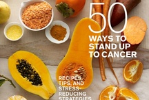 50 Ways to Stand Up to Cancer / Discover delicious recipes and fresh tips for the fight against cancer. Each time this free digital issue is viewed, we'll make a donation to Stand Up to Cancer.  http://www.wholeliving.com/183667/50-ways-stand-cancer