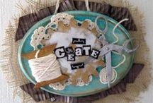 Altered Art & Home Decor / Altered Art & Home Decor projects created with Basically Bare products