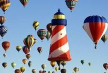 Hot Air Balloons / by Andrea Stockham