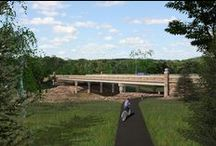 The Oneida Nation Bridge / Beautiful images of the bridge on the #OneidaReservation, located on HWY 54.