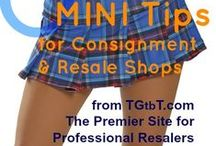 Consignment /Resale Shop Decor / Ideas for chic on the cheap... furnish your consignment, resale or thrift shop with more style than $. From web host Kate Holmes of the TGtbT.com Family of Sites for the Professional Resaler