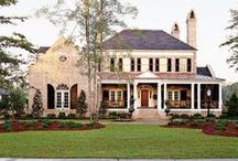 The Dream House / Everything I want for my southern traditional mansion / by Kristen Honig