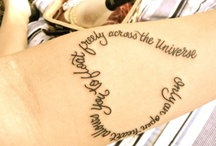 Tattoo / Tattoo inspirations. Maybe for the next one :)