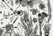 Science Art / Science-y art, botanical drawings