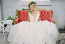 Wedding gowns/bridesmaid / by Donna Graham