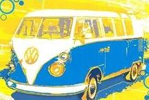 VW busses / by Stephanie Hoyer