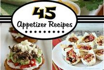 Appetizers / Appetizer ideas perfect for your next get together! #appetizers #recipes #food / by Summer Scraps
