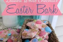 Easter, Eggs, Chicks + Bunnies!