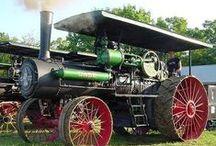 Steam Tractors from Around the World / Great pictures of Stream Tractors from around the world.  Charlotte Mehmke, Mehmke Steam Tractor Museum has collected Pinterest Steam Tractors from around to world.  / by Mehmke Steam Tractor Museum