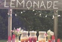lemonade stand / by Marissa Noe