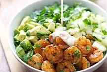 Yummy Fresh Salads / Salads!