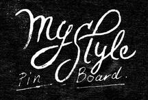 My Style Pinboard / by Nattapong Leckpanyawat