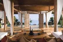 My Bali | Balinese Design | Modern Tropical / Tropical architectural design, outdoor areas, vacation spots, villas and private residences that make me wanna scream Baliiiiiiiii!