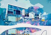 Art + Illustration / Art, illustration, sculpture, painting, collage, design.  / by Romona Sandon Designs
